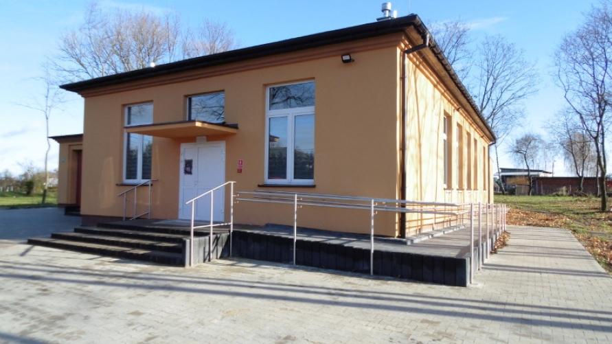 Zakończono przebudowę i rozbudowę świetlicy wiejskiej w Wyganowie