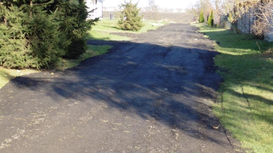Utwardzono drogę gminną w Starymgrodzie