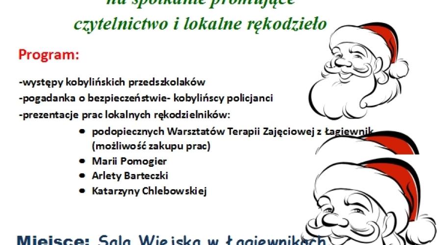 Mikołajki z Biblioteką