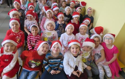 Mikołaj w Przedszkolu w Kobylinie