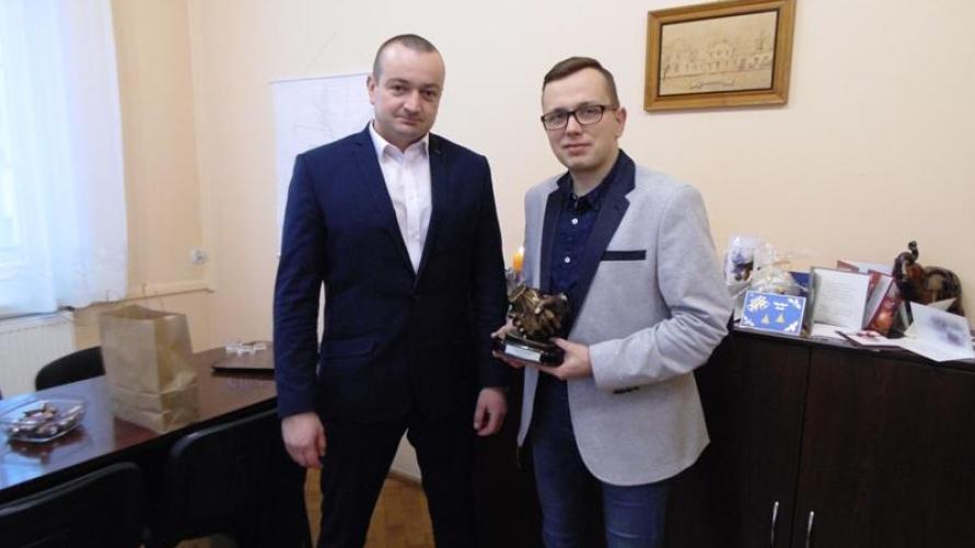 Z wizytą u Burmistrza Kobylina