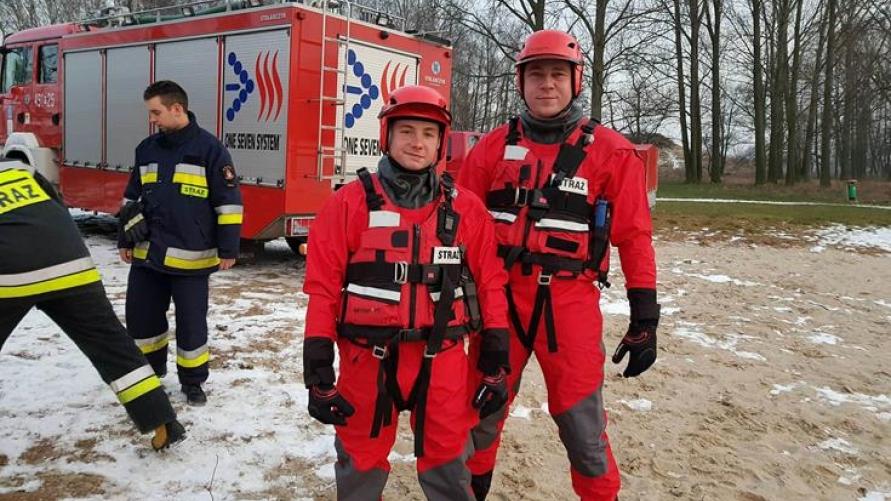 Ćwiczenia z zakresu ratownictwa wodno - lodowego