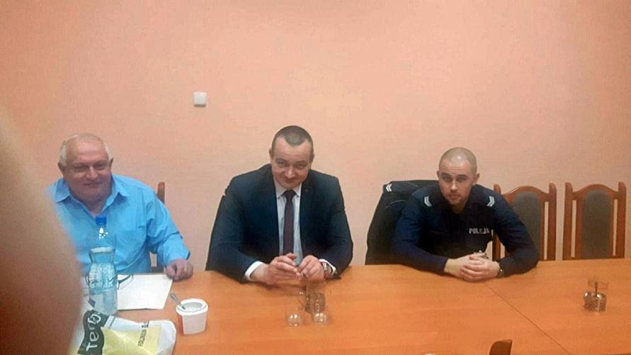 Zebranie w Starkówcu