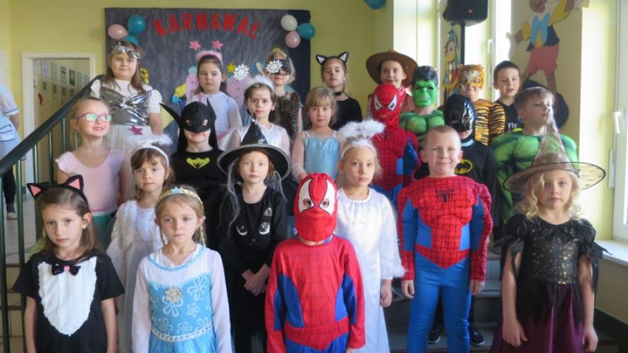 Balik karnawałowe w przedszkolu w Kobylinie