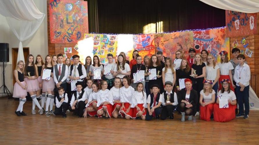 Taneczne sukcesy gimnazjalistów