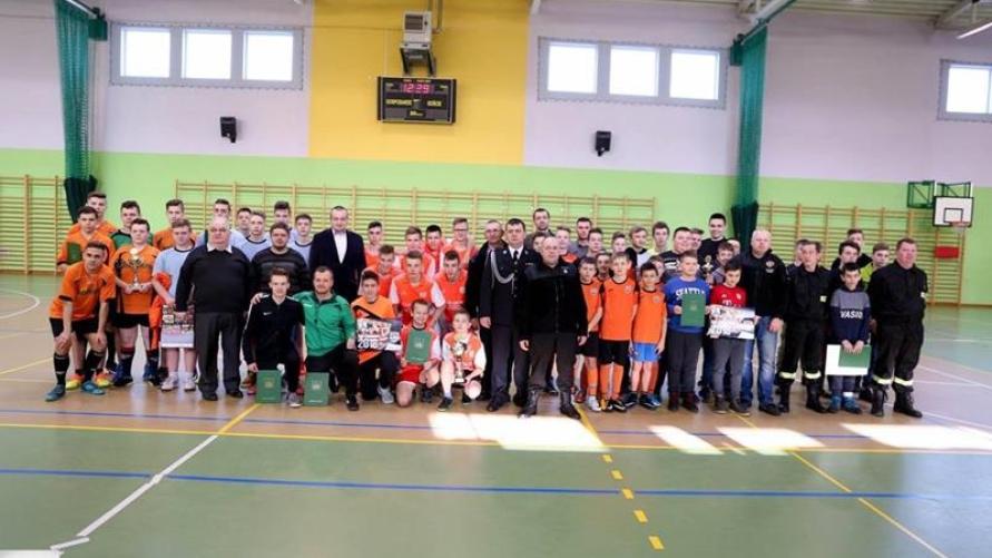 Halowy Turniej Piłki Nożnej Młodzieżowych Drużyn Pożarniczych