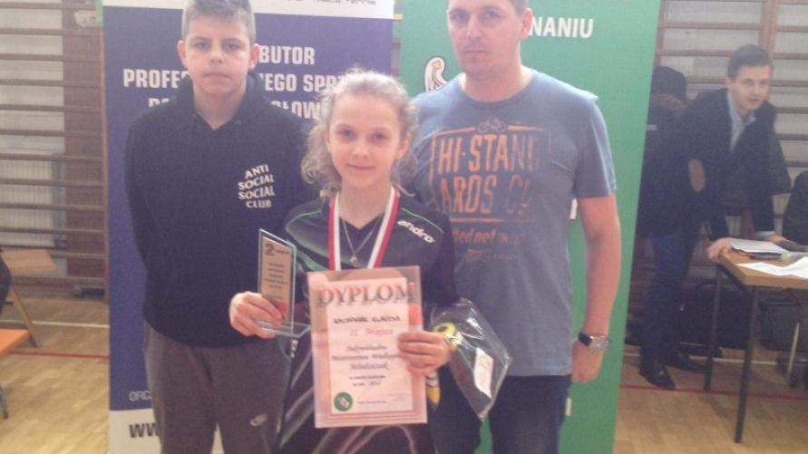 Kobylińska tenisistka awansuje na Mistrzostwa Polski