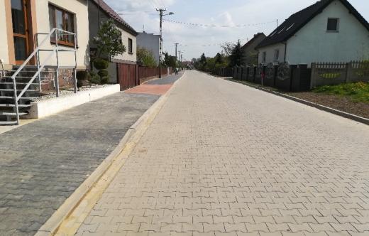 Przebudowa drogi gminnej w Kuklinowie