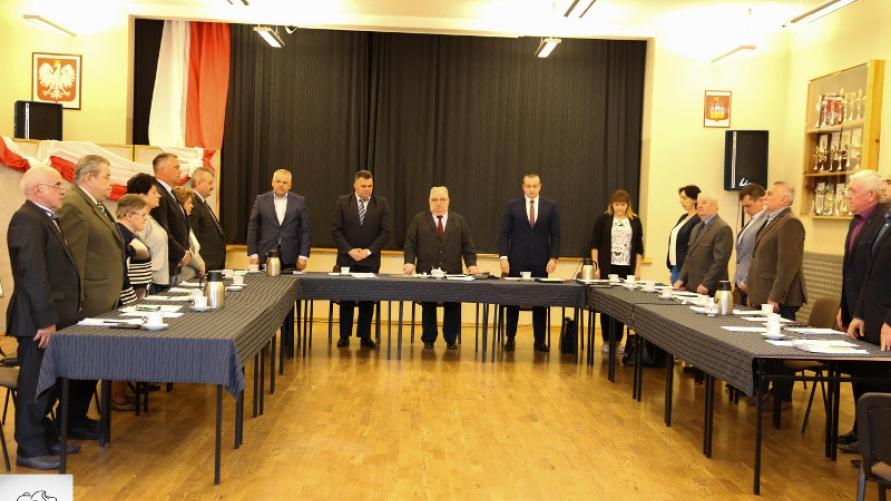 Wyróżnieni podczas sesji Rady Miejskiej w Kobylinie