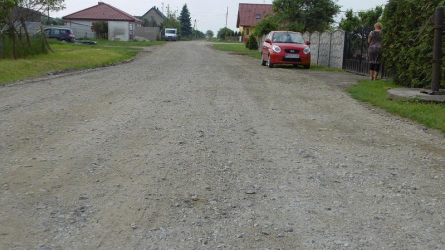 Naprawa dróg gminnych