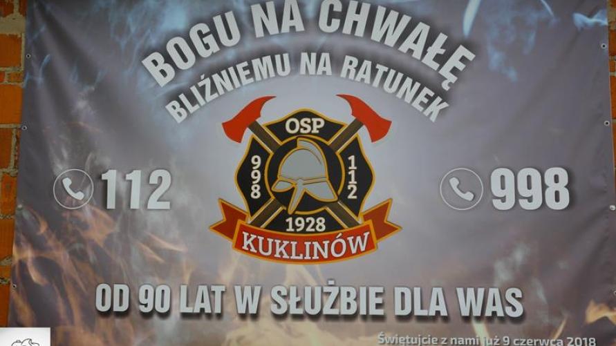 Jubileusz 90-lecia działalności OSP w Kuklinowie