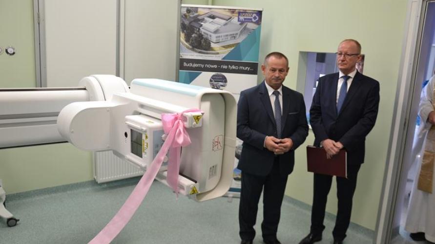 Nowy aparat RTG w szpitalu na ul. Mickiewicza -rewolucja technologiczna