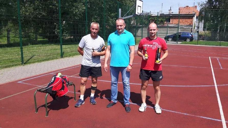 Ryszard Bruder Mistrzem Gminy Kobylin w tenisie ziemnym