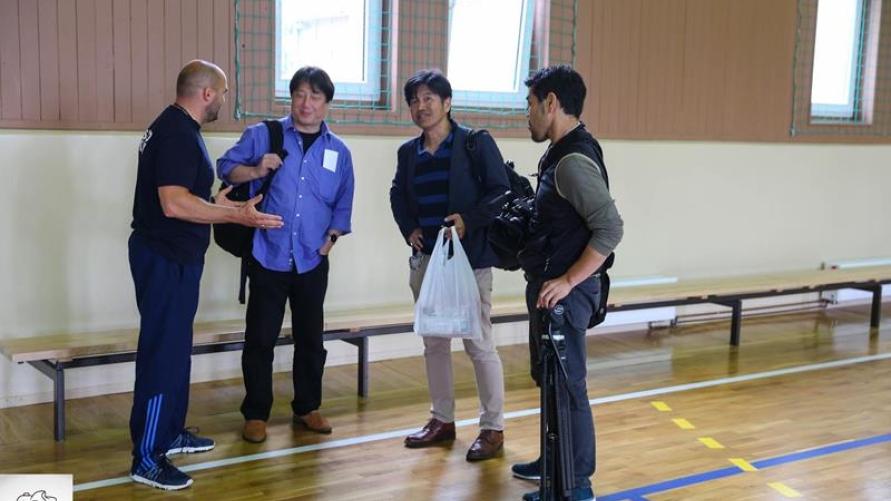 Japończycy pod ogromnym wrażeniem kobylińskiego sumo
