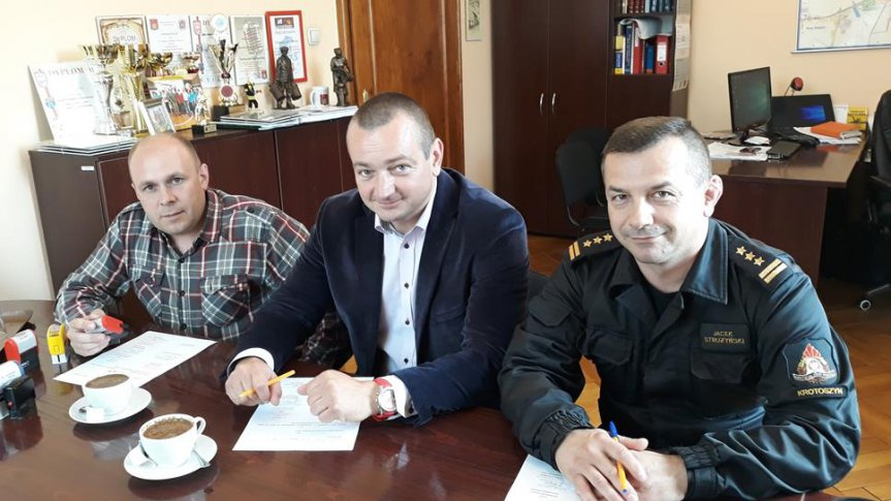 Jednostka OSP Kobylin włączona do sił odwodowych województwa wielkopolskiego