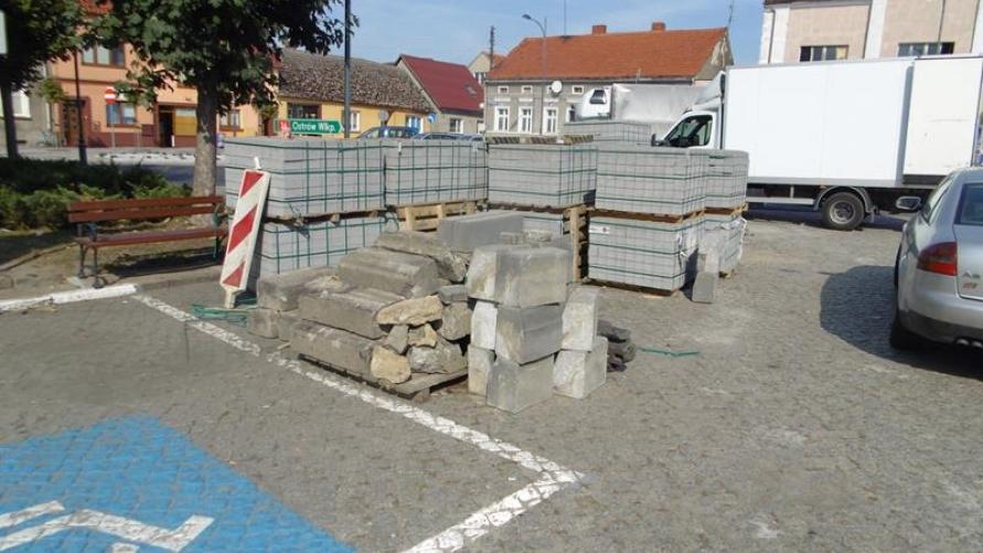 Remont na odcinku drogi krajowej nr 36 w mieście Kobylin!