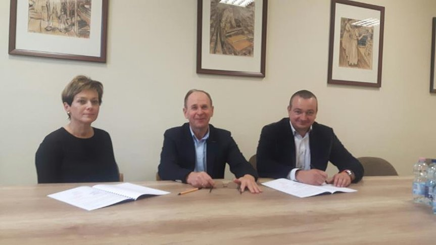 Podpisanie umowy o współpracę w zakresie kształcenia i rozwoju zawodowego