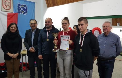 Drużyna Branżowej Szkoła I stopnia w Kobylinie  najlepsza na zawodach strzeleckich