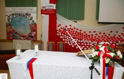 Wieczornica ku czci Niepodległej w Kuklinowie
