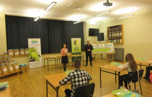 Zmagania młodych przyrodników w Konkursie ekologiczno  przyrodniczym.