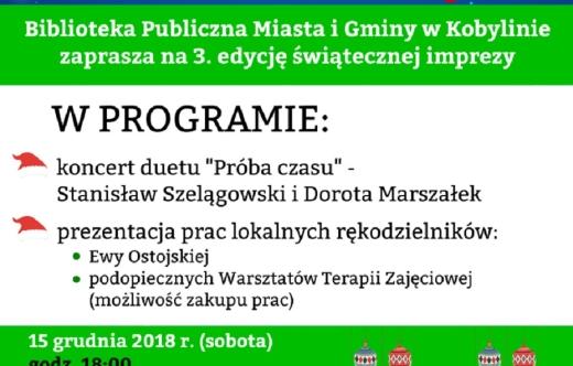 Mikołajki z Biblioteką.