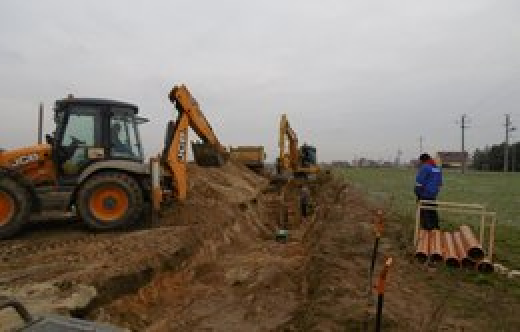 Rozbudowa kanalizacji sanitarnej na osiedlu Berdychowskim