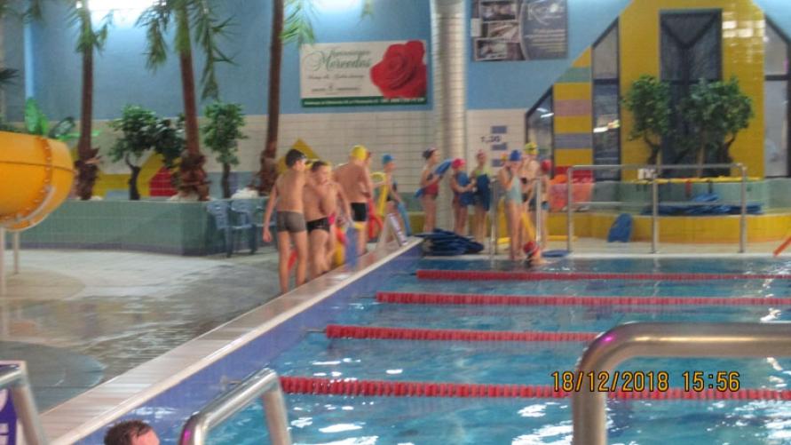 Osoby przebywające na terenie basenu.