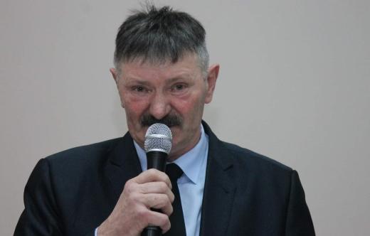 Zdjęcie sołtysa Srok Pana Mariana Grześkowiaka.