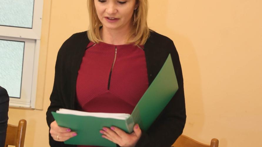 Sołtys Zdziętaw Hanna Szymańska.