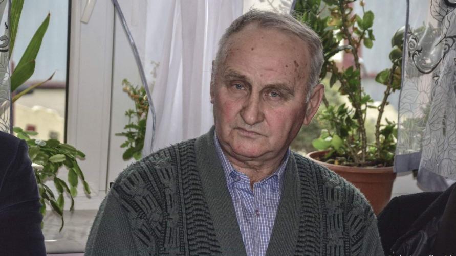 Sołtys Berdychowa Franciszek Hechman.