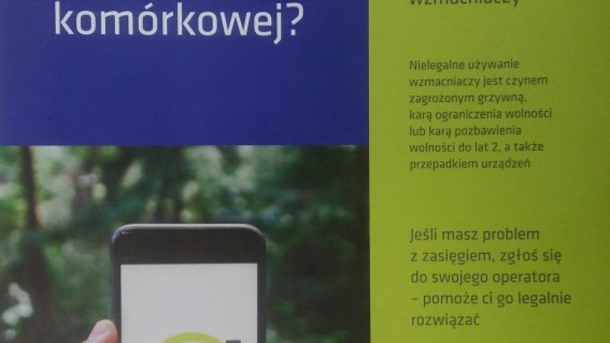 Plakat informacyjny.