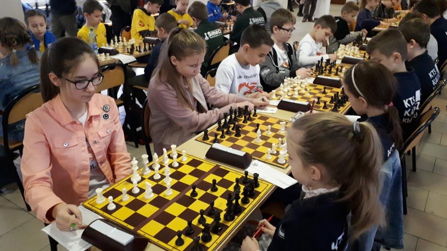 Rozgrywki szachowe.