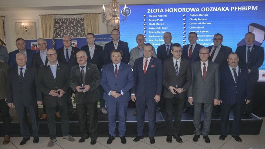 Laureaci Złotej Honorowej Odznaki PFHBiPM