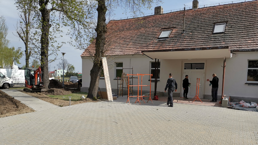 siedziba Gminnego Ośrodka Kultury w Kobylinie