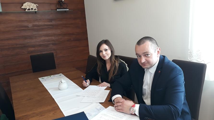 Burmistrz |Kobylina i Dyrektor GOK w Kobylinie