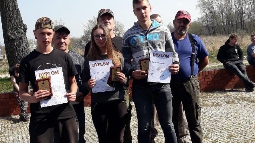 zwycięzcy Mistrzostw Koła nr 191 PZW w Kobylinie