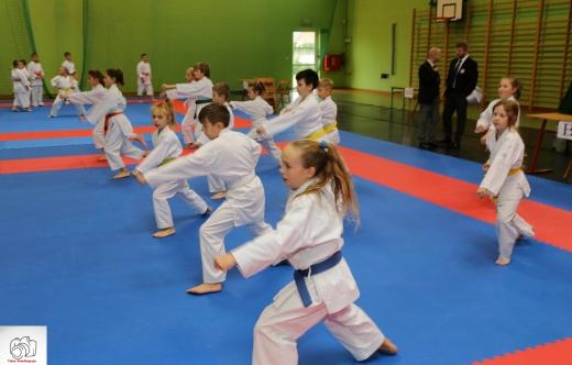 młodzi karatecy