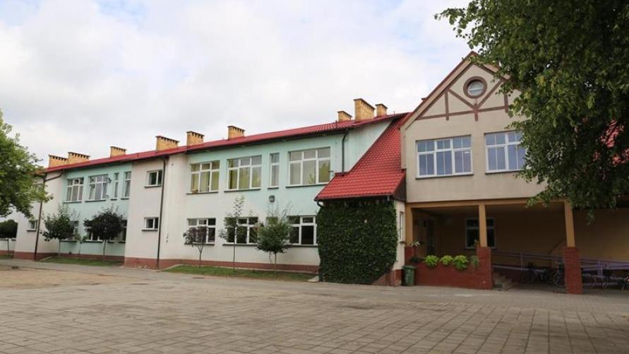 Budynek ZSPiP w Kobylinie