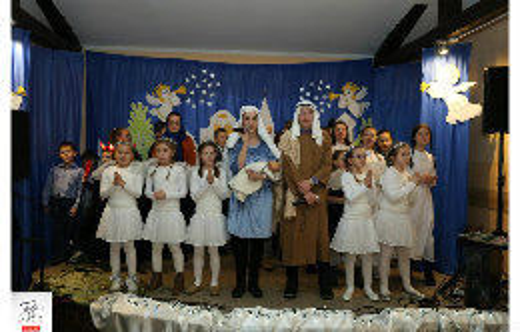 Dzieci z SP Zalesie Małe