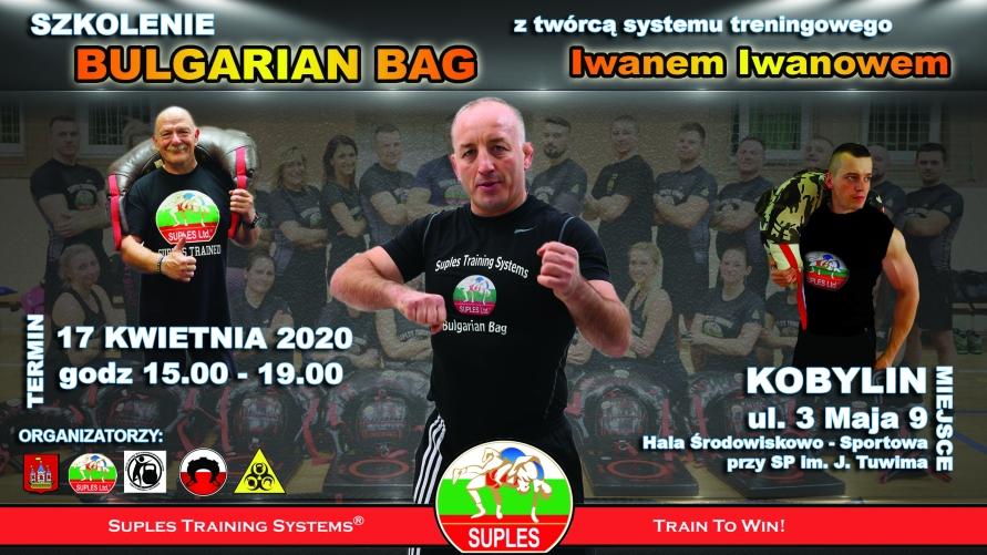 Plakat - szkolenie bulgarian bag
