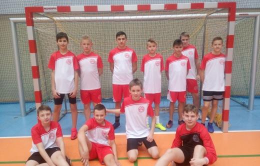 Drużyna SP Kobylin - piłka nożna