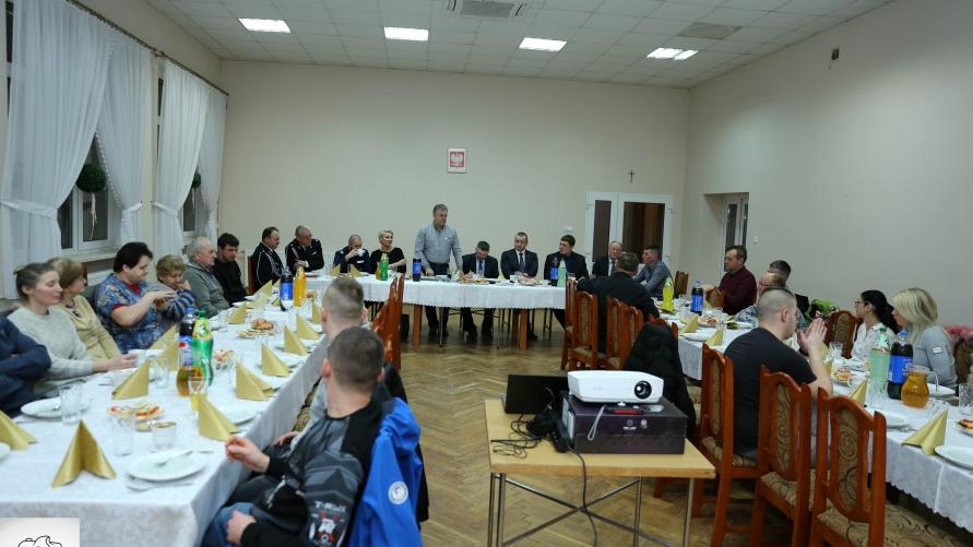 Zebranie sprawozdawcze w Srokach