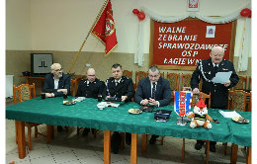 Zebranie sprawozdawcze OSP Łagiewniki