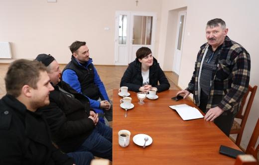Zebranie w Srokach