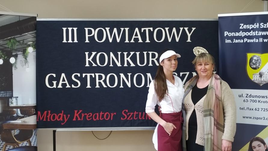 """III Powiatowy Konkurs Gastronomiczny """"Młody Kreator Sztuki Kulinarnej 2020"""