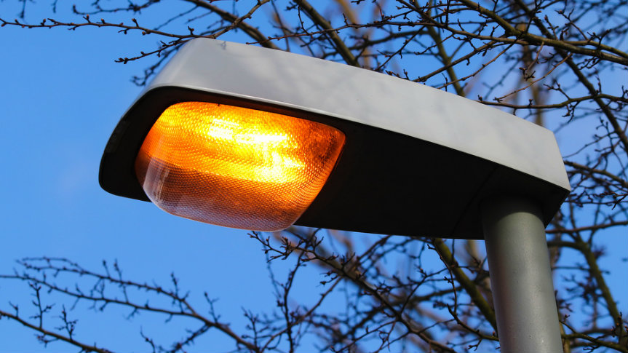 Awarie lamp ulicznych