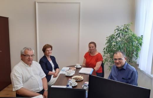 Spotkanie z przedstawicielami krotoszyńskiego Hufca Pracy