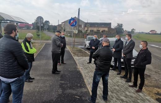 Odbiór techniczny ścieżki pieszo-rowerowej Smolice - Raszewy - Pasierby