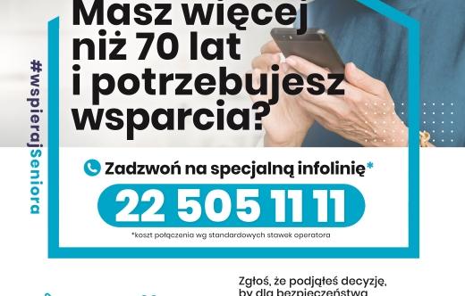 Plakat Programu - Wspieraj Seniora