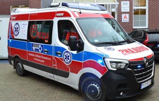 Nowy ambulans kobylińskiego Zespołu Ratownictwa Medycznego